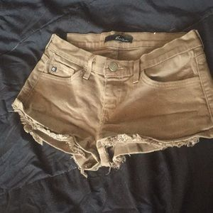 Jean cutoffs shorts
